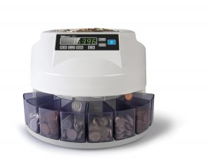 Safescan 1250 GBP Coin Counter Sorter - Front