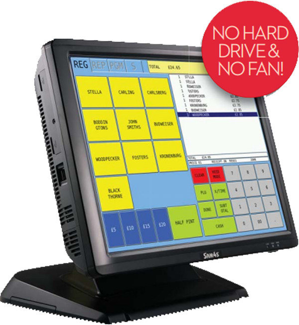 Sam4s SPS-2200 Touch Screen System