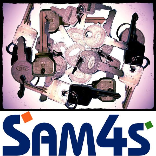 Sam4s/Samsung Cash Drawer Keys