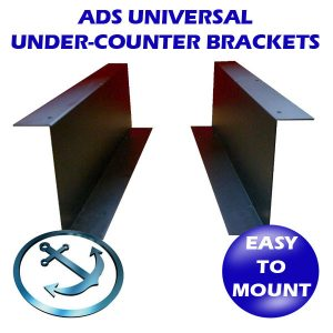 Under-Counter Cash Drawer Brackets (for EC-410/EC465)
