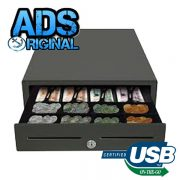 ADS-410USB (EC-410) Standard USB Cash Drawer