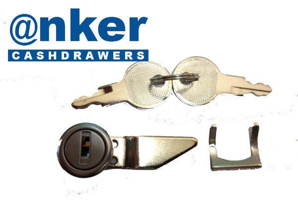 Anker Cash Drawer/Cassette Lock & Key Assembly