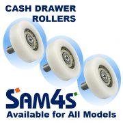 Sam4s/Samsung Cash Drawer Rollers