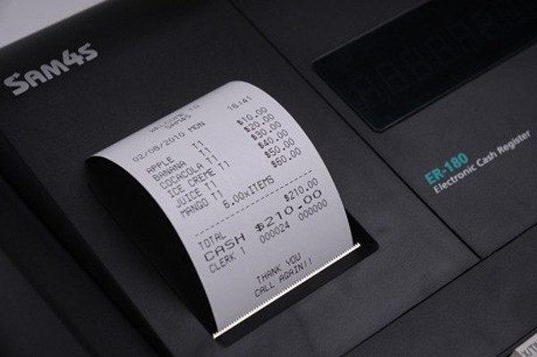 Sam4s ER-180T Cash Register
