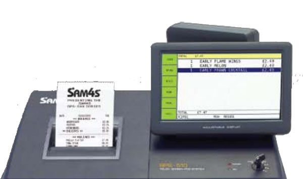 Sam4s SPS-530RT Hybrid Cash Register
