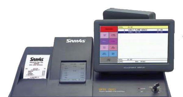 Sam4s SPS-520FT Hybrid Cash Register