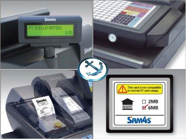 Sam4s SPS-520RT Hybrid Cash Register