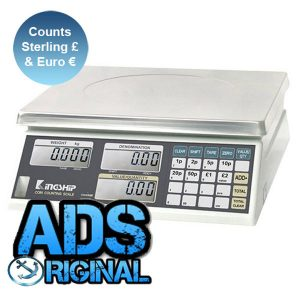 Kingship ADS-CS6 Coin Counting Scale (£'s & €)