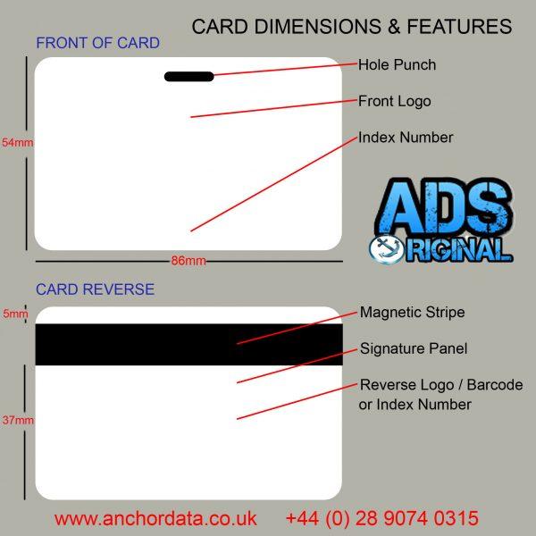 1000 x Black & White Swipe Cards (Staff / Membership)