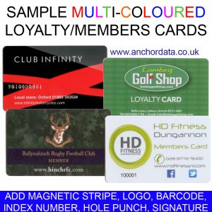 1000 x Full Colour Swipe Cards (Staff / Membership)