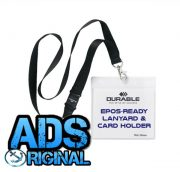 EPOS-Ready Cashiers Lanyard & Name Badge/Card Holder