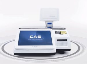 CAS CL-7200 All-In-One Multimedia Label Printing Scale