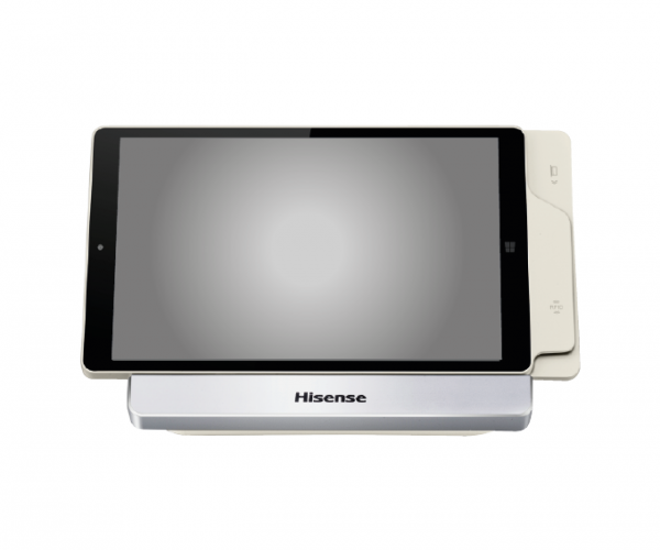Hisense HM388 POS Tablet & Docking Station - Front - Main