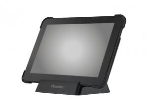 Hisense HM-618 Rugged Tablet & Dock - Side - Card Reader MSR